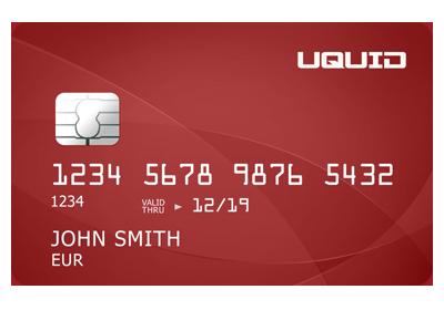 Uquid carte bancaire prepayée en bitcoin